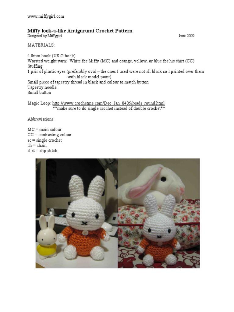 Miffy Amigurumi Cute   Crochet   Amigurumi