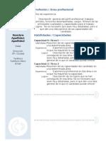 Curriculum Vitae Modelo3b