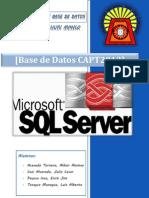 Proceso de Creacion Base de Datos CAPT2013