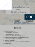 Dimensional Analasys and Scaling Laws Ppt