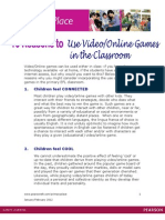 10 Reasons for Video Games