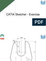 Catia Sketcher - Exercise