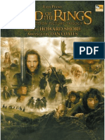 Dan Coates the Lord of the Rings Easy Piano Book