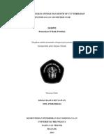 dimas JurnaUlir merupakan suatu produk atau komponen yang sangat penting dalam bidang ... pitch ulir, dengan berbagai macam kondisi pemotongan yang ada kital ulir.pdf
