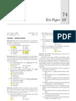 Jmet Sample Paper