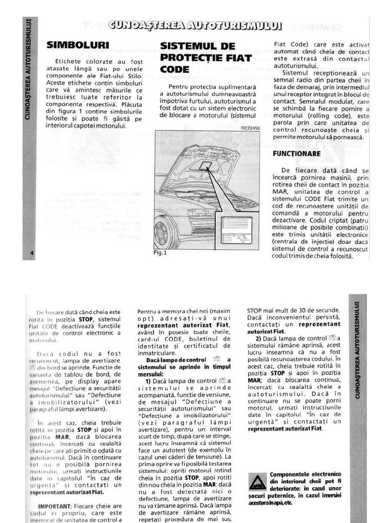 Manual_FIAT Stilo Ro
