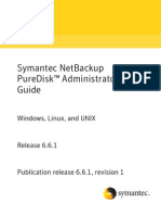 PureDisk Admin Guide 6.6.1