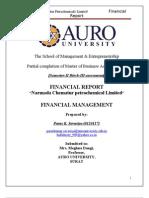 FM Final Report by Paras