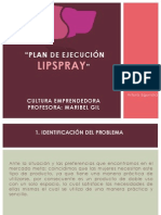 LIPSPRAY PRESENTACIÓN