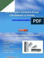 Calculatoare second hand cu licenta - Expert Company Group