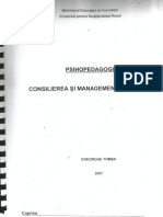 Consilierea si managementul carierei