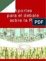 Aportes Para El Debate Sobre La Paz