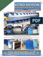 Electro Motion Jorns folding and cladding line advert