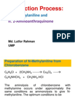 N-Methyl Aniline & Anthraquino