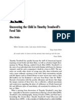 Brinks - Uncovering the Child in Timothy Treadwell's Feral Tale (2008)