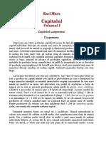 Capitolul Unsprezece Marx - Cooperarea