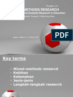 1. Presentasi Mixed Methods