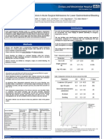 Outcome predictors in acute surgical admissions for lower gastrointestinal bleeding