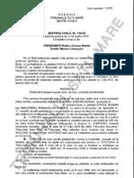 Hotararea privind despagubirile platite in cazul fostului Primar Anderco