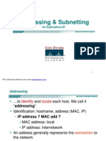 Addressing & Subnetting