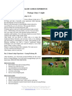 Kamu Lodge Packages to explore Laos' countryside and tribe minorities