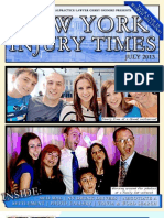 New! NY Injury Times- July 13' Newsletter