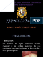 FRENILLO BUCAL