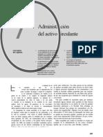 Capítulo 7 Administración del activo circulante