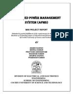 AUTOMATIC Peak Hour Load Management System