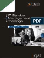 ITSM Training Brochure