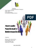 Mercado Nacional e Internacional Peruano