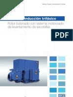 Motor de Induccion de Rotor Bobinado