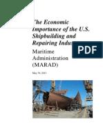 MARAD Econ Study Final Report 2013
