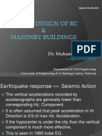 The Seismic Design Masonry Buildingsc7