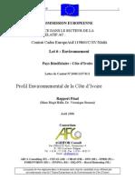 Profil Environnemental Ci