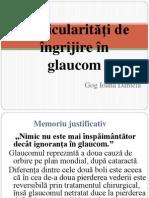 Particularităţi de îngrijire în glaucom
