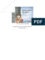 Topcon Layout v2.0 - User Manual 09 Dec 2009