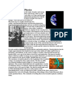 Introduction to Physics, physics and you scientist and their contribution.docx