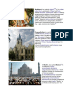 Hinduism Evangelicalism Muslim Budhism Jainism Judaism2.docx