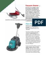 Vacuum Cleaner, Floor polisher3.docx
