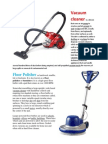 Vacuum Cleaner, Floor polisher2.docx
