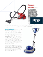 Vacuum Cleaner, Floor polisher2.docx