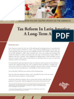 Tax Reform In Latin America