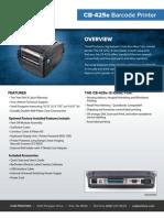 Cub CB-425e Desktop Printer