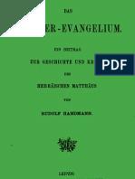 Handmann_Das Hebräerevangelium_1888
