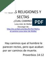 Falsas Religiones y Sectas