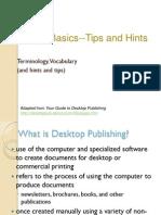 Intro to Desktop Publishing