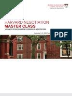 Negotiation Master Class Free Program Guide