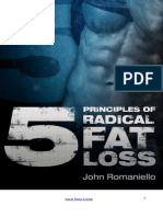 5 Principles of Radical Fat Loss