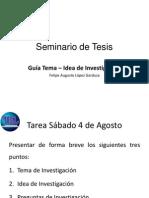 Guía Tema-Idea